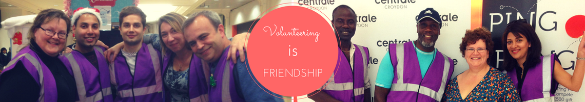 Volunteering is friendship